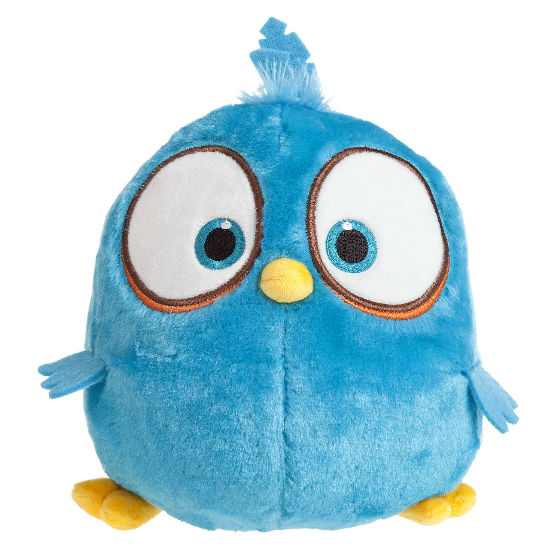 INN-313 Angry birds Blues - Peluche riscaldabile naturale